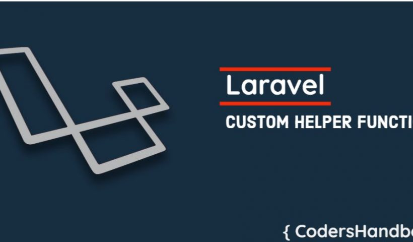 craete-custom-helper-funcation-in-laravel